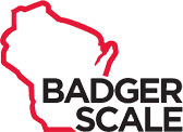 Badger Scale services crane, bench, truck scales
